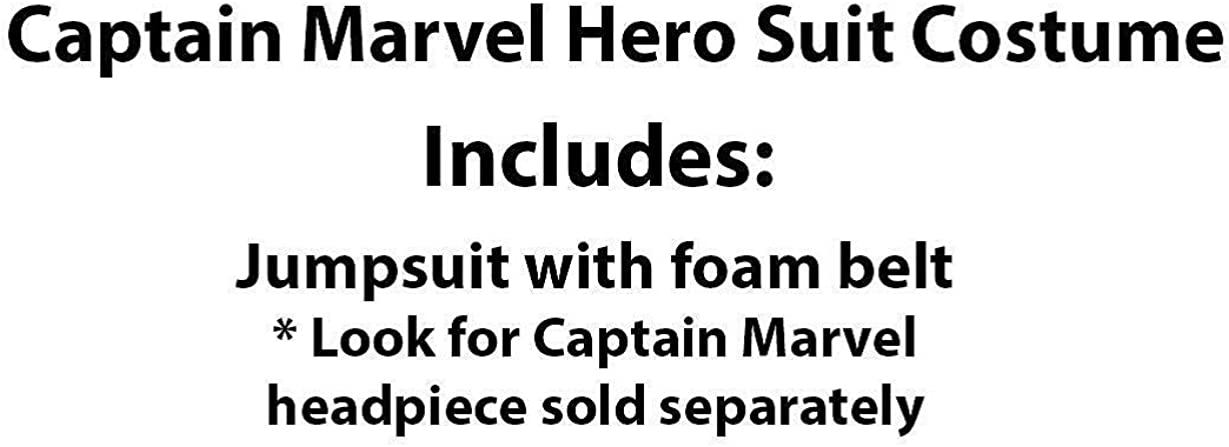 Rubies Womens Captain Marvel Hero Suit