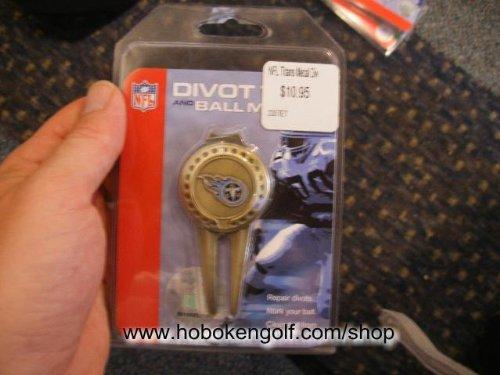 Tennessee Titans NFL Divot Tool/Ball Marker (Mcarthur Nfl Tool Divot)