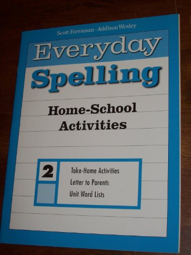 SPELLING 2000 HOME SCHOOL ACTIVITIES GRADE 2