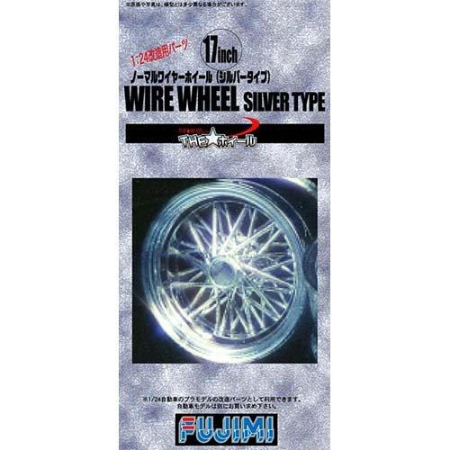 The Wheel 53 17inch 1/24 Wire Wheel Silver Type