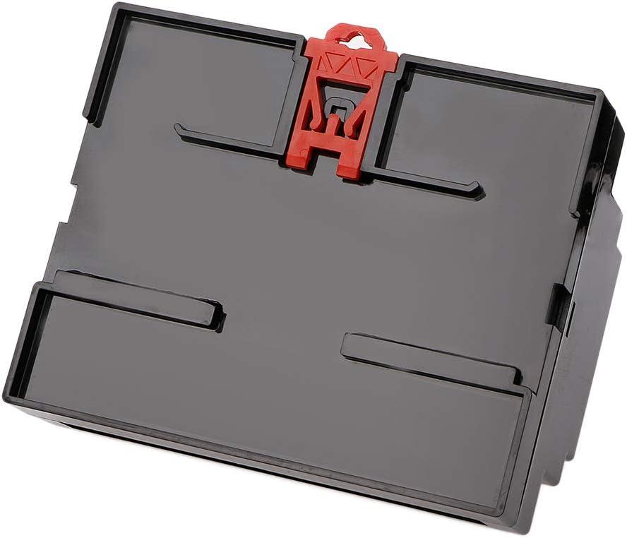 FATTERYU 107 87 59 mm Negro//Blanco Pl/ástico DIN Rail Junction Box Equipo electr/ónico