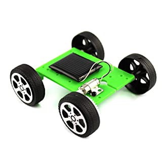 Ndier autoassemblanti Solar Toy Car Imposta Come Il Ministero della Scienza Educazione per Bambini Studenti (Blu) 1PCS