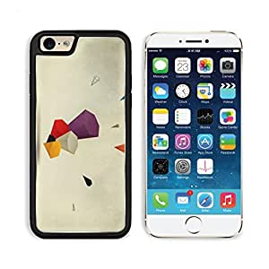 Figures Patterns Colors Art Artract Design Punktail's Collections iPhone 6 Cover Premium Aluminium Design TPU Case Open Ports