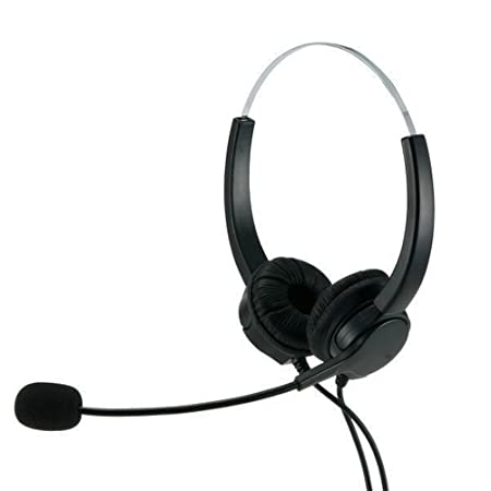 Amazon Com Telpal Hands Free Call Center Noise Cancelling Corded
