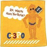 UCHINO Disney STAR WARS paper cut towel handkerchief [antibacterial] 25 ¡Ñ 25cm yellow 3906V004 Y