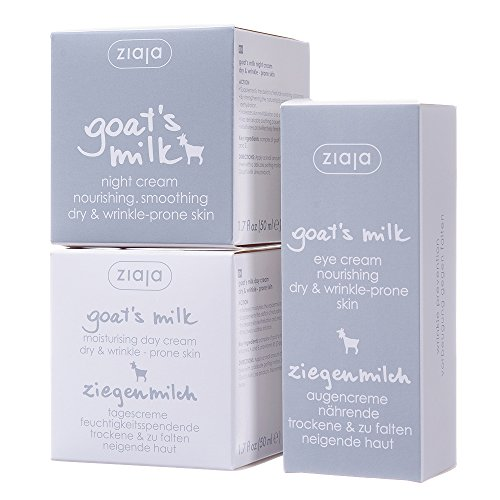 Goat's Milk Bundle: Day, Night & Eye Cream