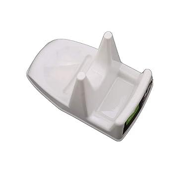HENGSONG L/öffel-St/änder Topfdeckelhalter Deckelhalter K/üche Multifunktions Halter f/ür Deckel und L/öffel aus Edelstahl