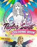 Taylor Swift Coloring Book: Taylor Swift Fan