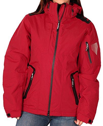 - Elevate Women's Elias Insulated Jacket, Vintage Red, Size Medium