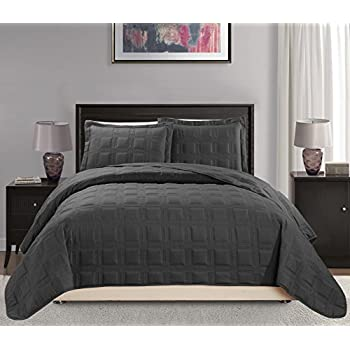 Amazon Com Linen Plus King California King 3pc Quilted