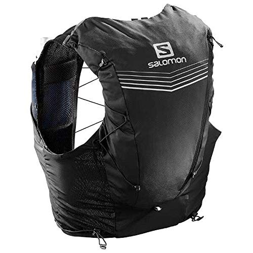 Salomon Adv Skin 12 Set Hydration Stretch Pack, Black, Small