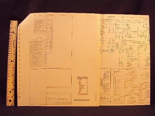 1978 78 ford granada mercury monarch electrical wiring diagrams rh amazon com ford granada mk2 wiring diagram ford granada mk1 wiring diagram