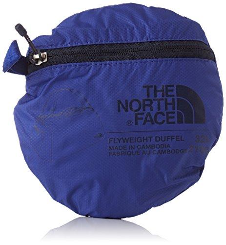 The North Face Erwachsene Reisetasche Flyweight Duffel Brit blue / Urban navy