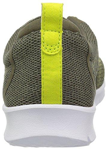 Step Sneaker Mesh Allenabay 060 Clarks M Us Khaki Women's w1qtxnnB5