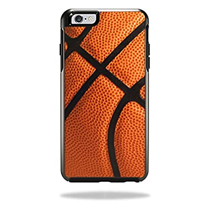 MightySkins Protective Vinyl Skin Decal Cover for OtterBox Commuter iPhone 6/6S Case Cover Sticker Skins Basketball Commuter iPhone 6 Case