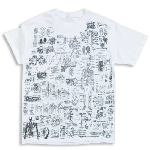 ComputerGear Science Fact Sheet All-over Printed T-shirt