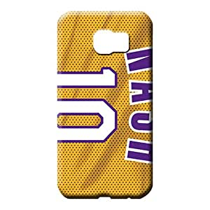 samsung galaxy s6 Sanp On Protector series mobile phone carrying shells los angeles lakers nba basketball