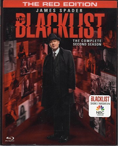 The Blacklist: Season 2 - Red Edition (With Exclusive Villians Dossier & Lenticular Cover) [Blu-Ray + Digital HD]