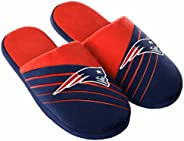 Forever Collectibles New England Patriots Men's Big Logo Slippers