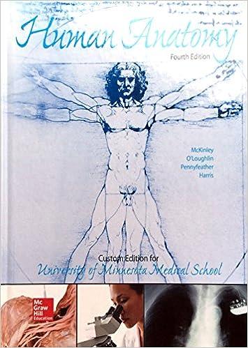 Human Anatomy Custom Edition For University Of Minnesota O