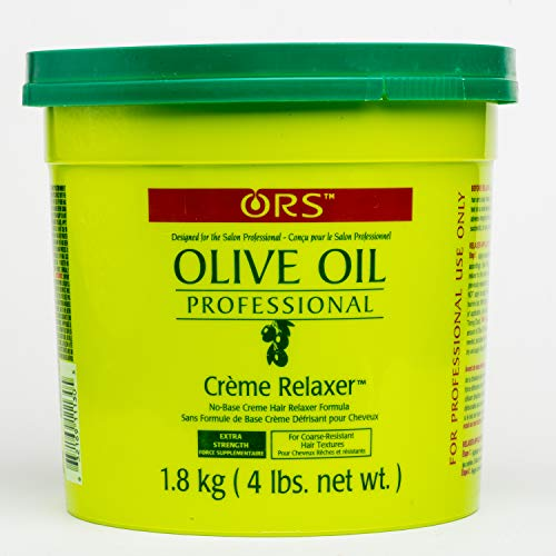 Organic Root Stimulator Olive Oil Professional Creme Relaxer, Extra Strength, 64 Ounce (Best Perm For Thick Coarse Hair)