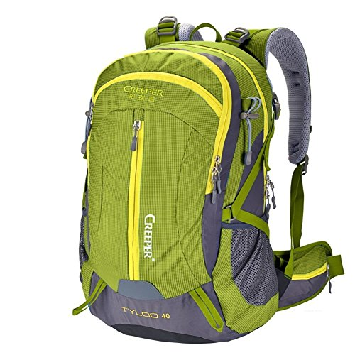 Bergsteigen Tasche/Wasserdichte Outdoor-Rucksack/Wanderrucksack/Camping Pauschale-Armee-Grün 40L