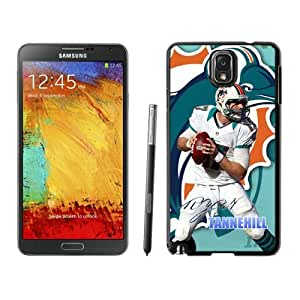 NFL&Miami Dolphins Ryan Tannehill Samsung Galalxy Note 3 Case Gift Holiday Christmas Gifts cell phone cases clear phone cases protectivefashion cell phone cases HLNB605584519