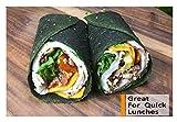 Raw Wraps, Gluten Free, Paleo, Vegan, Keto Friendly