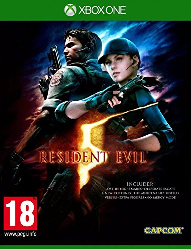 Resident Evil 5 (Xbox One) (Evil Resident 5 Edition Wii)
