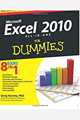 Excel 2010 All-in-One For Dummies Paperback