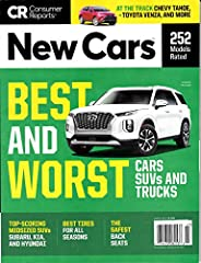 Consumer Reports Magazine New Cars March 2021 Best and Worst Cars, SUVS, Trucks
