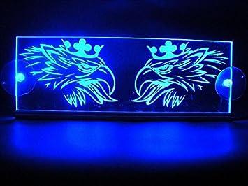 Placa LED Griffin para interior de cabina de 24 V; iluminación para camiones Scania (azul): Amazon.es: Coche y moto