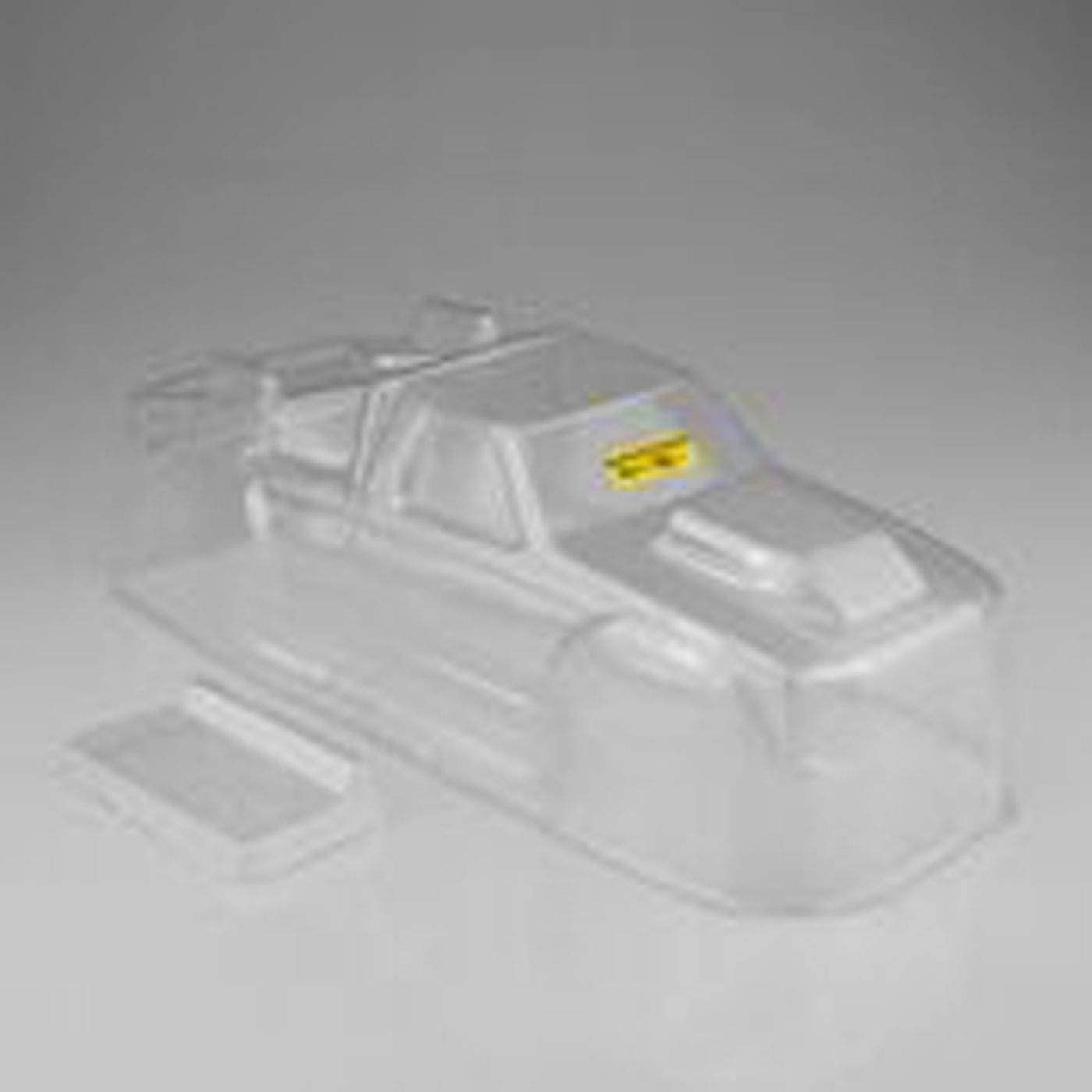 Rustler VXL J Concepts Inc 1993 Ford F-150 Clear Body with Spoiler JCO0375
