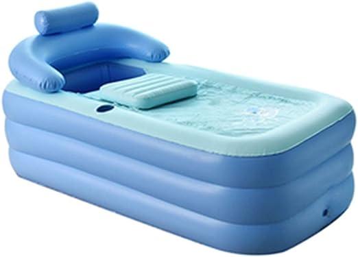 Bañera inflable plegable engrosamiento de la bañera para adultos ...