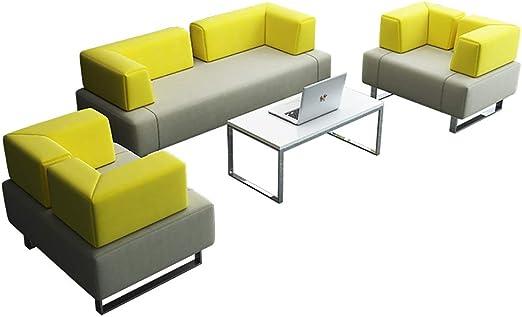 Amazon.com: FGONG Home Interior Leather Sofa, Modern ...