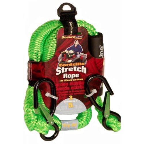 Crawford-Lehigh CZB3 Stretch Rope, 3-Feet, Green