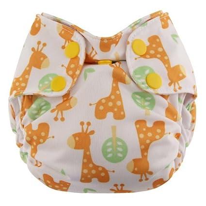 Swaddlebees Recién Nacido Simplex Todo en Uno Pañales, jirafa Color: Jirafa infantil, bebé
