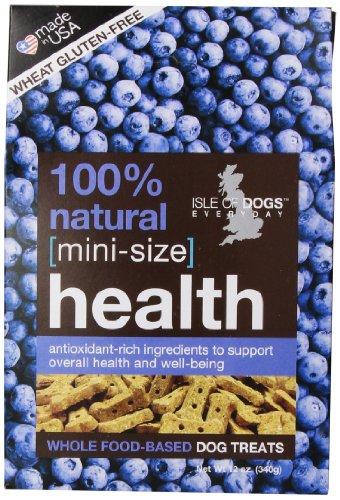 Isle of Dogs 100-Percent Natural Mini Health Dog Treat