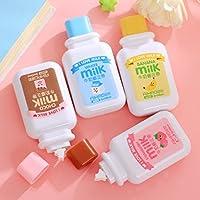 Katoot@ 4 pcs/lot Kawaii stationery Cute Milk Bottle Correction tapes cinta correctora zakka canetas school office supplies papelaria