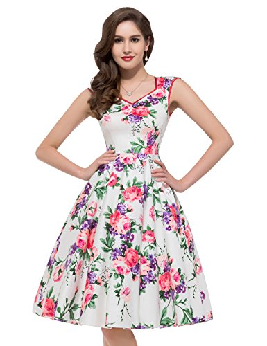 GRACE KARIN Floral Homecoming CL7600