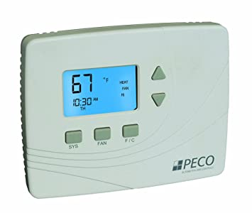 peco tw205 001 wireless non programmable thermostat white peco tw205 001 wireless non programmable thermostat white