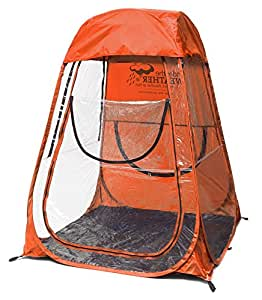 under the weather sports pod pop up tent xl orange sports outdoors. Black Bedroom Furniture Sets. Home Design Ideas