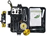 Tactical Survival 2 Professional 10 in 1 Emergency Outdoor Survival Tool for Outdoor Travel Hike Field Camp