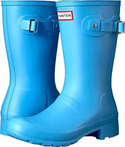 womens hunter rain boots blue - 7