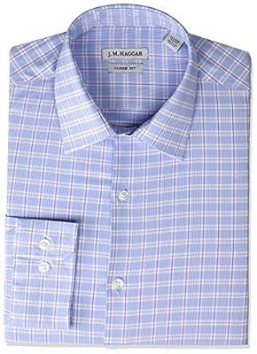 Haggar Men's Premium Performance Classic Fit Dress Shirt