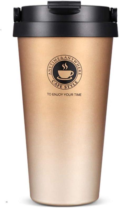 SLOSH Vaso Termico Café Termo Taza Termica Viaje Botella Acero Inoxidable 500ml