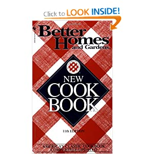 Better Homes & Gardens New Cookbook