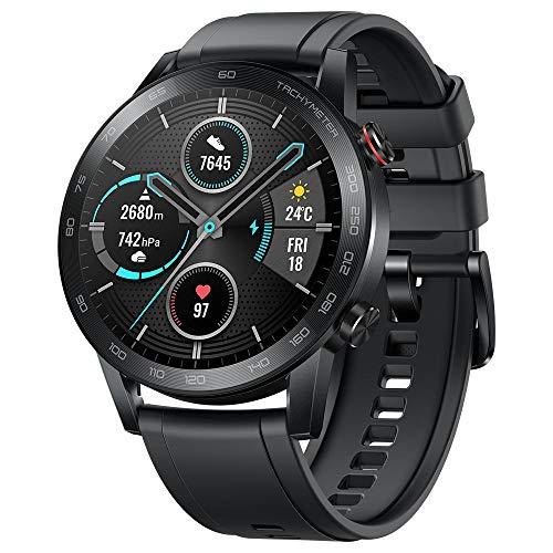 HONOR Magic 2 (46mm, Charcoal Black) Minos-B19S Bluetooth, GPS Smartwatch