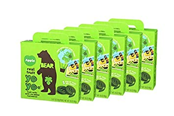 BEAR | Real Fruit Yoyos Snack | Non-GMO | Gluten-Free | All-Natural | Apple  | 0 7 Ounce (30 Count)