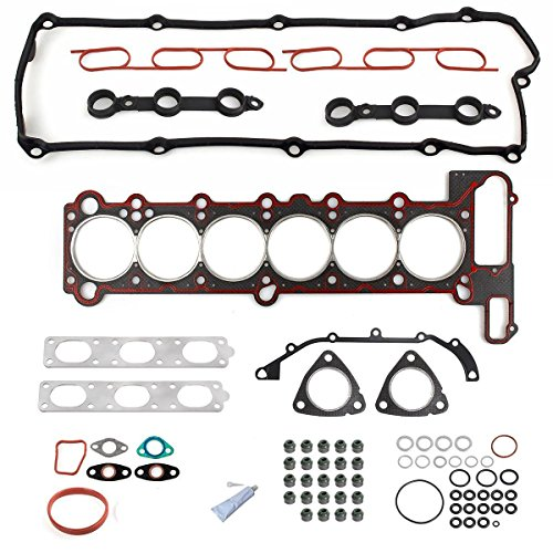 (PartsSquare Engine CYLINDER HEAD GASKET kit Replacement For BMW E36 E39 323i 323is 328i 11121427826)